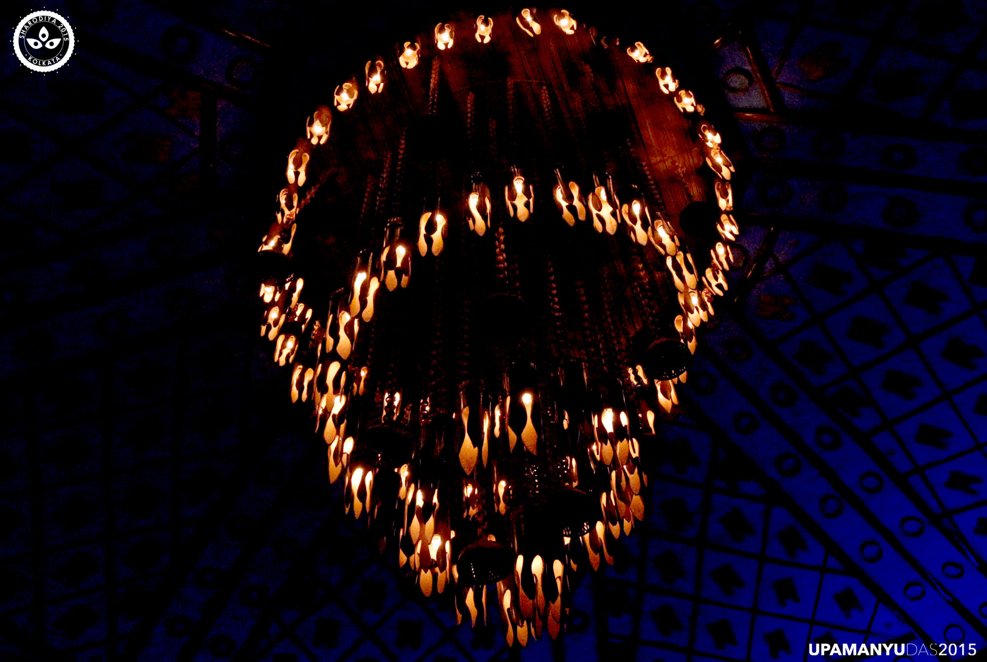 Bamboo Chandelier in Pandal